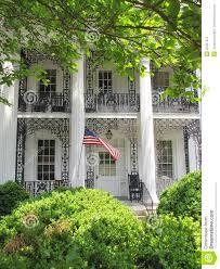 plantation style home plantation style house stock photography image 36497912