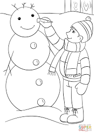 happy winter coloring page free printable coloring pages