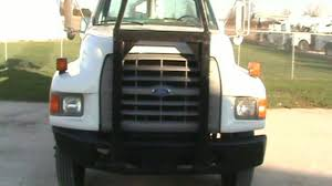 1998 ford f800 bucket truck altec aa600 56 u0027 lower over center on