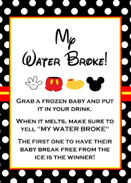 my water baby shower 20 printable baby shower that are to play tip junkie