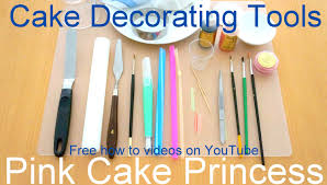 Baking And Cake Decorating Cake Decorating Tools I Use For My How To Decorate Cupcakes