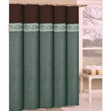 Turquoise And Brown Curtains Turquoise And Brown Shower Curtain Springfield Luxury Chocolate