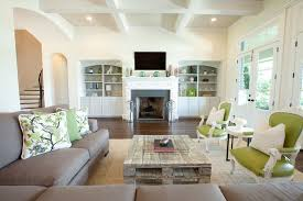 coffee table height living room traditional with archway beige