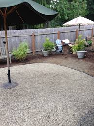 Gravel Backyard Ideas Progress On A Fall Backyard Project The Pea Gravel Patio The