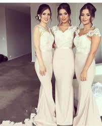 fitted bridesmaid dresses best 25 mermaid bridesmaid dresses ideas on mermaid