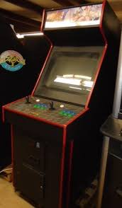 Street Fighter 3 Arcade Cabinet Arcade Fighting Theme