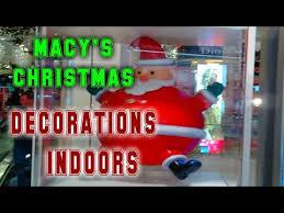 Macy S Christmas Decorations Macy U0027s Christmas Decorations Indoors 2017 Youtube