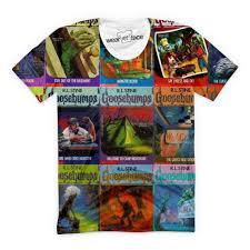 the goosebumps t shirt u2013 wearyourface