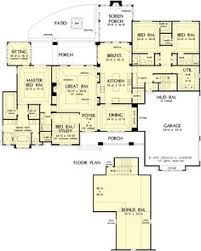 house plans with separate apartment separate apartment on level hwbdo73936 country house plan