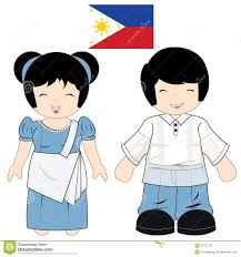 philippines traditional clothing for kids traditional costume clipart philippine culture pencil and in