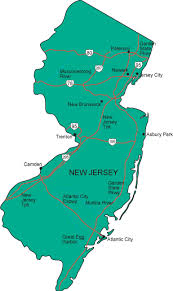 map of nj nj map new jersey state map