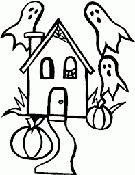 easy halloween coloring pages easy halloween coloring pages
