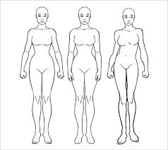 body outline template u2013 21 free word excel pdf format download