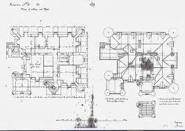 balintore castle restoration project november 2013 plan 5 attics and roofs