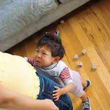 when toddlers bite parenting
