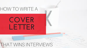how to write a cover letter that wins interviews ua