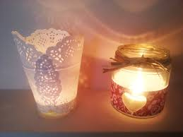 porta candele tutorial da barattoli a portacandele idee per decorare casa