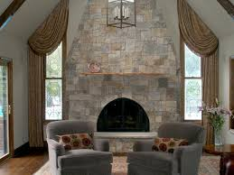 stone fireplaces pictures natural stone fireplaces hgtv