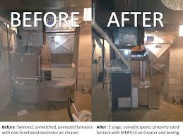 Cold Air Return Basement by A Tale Of Two Furnaces Why Bigger Isn U0027t Better U2014 Illiana Heating
