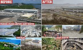 Blu U Before And After Before And After Photos Of Hurricane Irma U0027s Destruction Daily