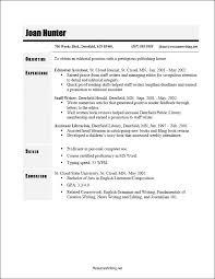 Well Written Resumes Reverse Chronological Resume Template Chronological Resume