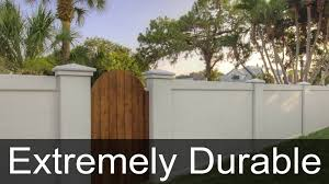 precast concrete fence walls are easy to install for texas