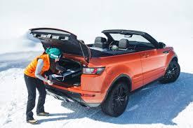 land rover evoque black convertible 7 reasons the range rover evoque convertible is the drop top suv