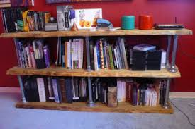 How To Build Your Own Bookshelf 80 Diy Shelf Projects Built With Pipe Simplified Building