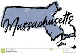 Massachusetts Travel Clipart images Hand drawn massachusetts state design stock vector illustration jpg