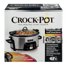 stoneware rice cooker crock pot programmable 6 quart 1 0 ct walmart