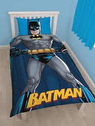 Batman Double Duvet Cover Batman Shadow Single Duvet Cover Set 21 55 Free Uk Delivery