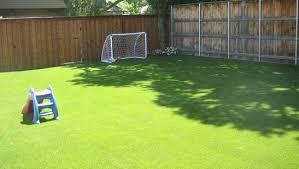 Backyard Artificial Grass by Urbanturf For Landscaping Residential