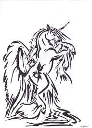 tribal unicorn tattoo designs 1000 geometric tattoos ideas