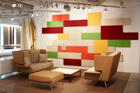 standard wrapped wall panel kids u0027 wall brings color into space