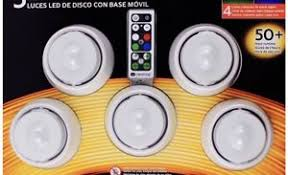 duracell led puck lights duracell led battery operated puck light 5 pack remote control