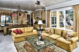 living room french country decorating ideas sloped ceiling