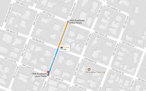 Google Map Portland Oregon by Gas Leak In Southwest Portland Near Downtown Portland Or Patch