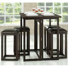 Baxton Studio Bar Stools Baxton Studio Leeds 3 Piece Dark Brown Pub Set 28862 3812 Hd The