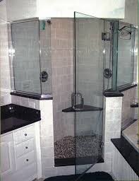 Corner Shower Glass Doors E J Glass And Mirror Corporation