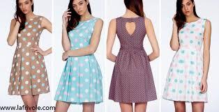 rochii de vara polka dots buline lafrivole polka dots buline fashion