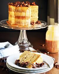 caramel cake with salted caramel italian meringue u2022 cakes