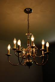 Brass Dining Room Chandelier Conquering The Brass Rosemary On The Tv
