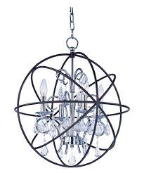 maxim lighting 25142 orbit 19 inch wide 4 light mini chandelier