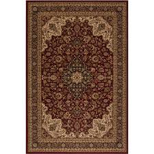 Concord Global Area Rugs Concord Global Trading Classics Medallion Kashan 5 Ft