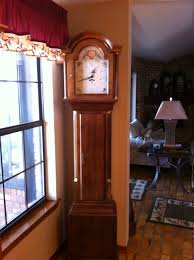 Emperor Grandfather Clock I Have A Harrington House Grandfather Clock In Cherry That