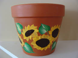 how to paint a clay flower pot 123 enchanting ideas with hand