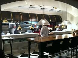 kitchen dazzling restaurant open kitchen design interior of
