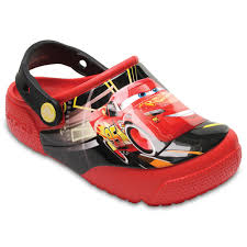 disney pixar cars lightning mcqueen kids light up clogs crocs disney pixar cars lightning mcqueen kids light up clogs