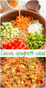 Pasta Salad Recipes Cold by Best 25 Spaghetti Salad Ideas On Pinterest Spaghetti Pasta