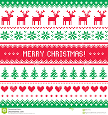christmas sweater pattern vectors u2013 happy holidays